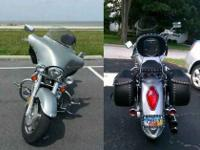 2005 Honda VTX 1300 Liquid Cooled, Shaft Drive. 9,800