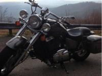 It's a 2006 honda shadow sabre 1100 with only 11,xxx