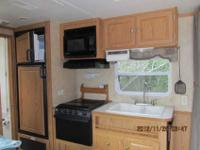 nineteen feet Pilgrim Camper with queen sized bed (
