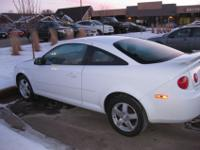 2006 White Chevrolet Cobalt 2dr LT Coupe featuring a 4