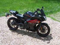 2012 Yamaha FZ6R 600 cc inline 4cyl. One owner still