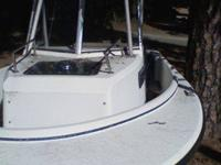 20ft.1986 Proline Cutty Cabin Boat With Walk around