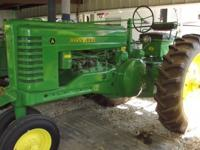 John Deere A 1952 Farm Tractor 2-cyl Restored Perfect