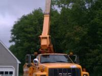 1997 GMC C7500 45 ft Bucket TruckTruck runs and drives