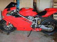 2004 Ducati Superbike 749s, I am parting with a 2004