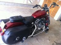I have a 2009 Harley Sportster 883, it has very low