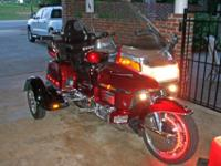 1994 Touring Honda GL 1500 Interstate Trike, Tow-Pac,