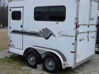 SUNDOWNER ALL ALUMINUM 7,6 TALL 6,9 WIDE AND RAMP LOAD.