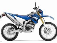 2012 YAMAHA WR250, Two-tone Team Yamaha Blue / White,