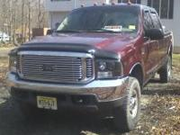 I am selling my F250 super duty crew cab pick up it is