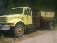 2000 International 4900 Asphalt Patch Truck 6700.00LOW