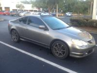 2004 Acura RSX Type S in great condition. The car has a