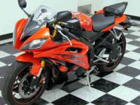 WE JUST GOT IN THIS LIKE NEW 2009 YAMAHA R6. IT IS A