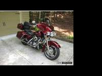 2008 street glide with only 4408 miles 2nd owner has