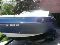 This 21' cuddy is perfect for day of cruising the