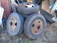 8.75-16 they came o ff my box truck we put new tires on