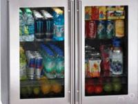 Brand New Built-In Refrigerator with 8 Adjustable Glass