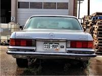 1979 Silver Grey Mercedez for sale ? Powerful, Fast,