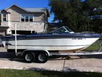 The boat runs great and is in very nice condition and