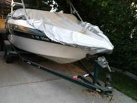 1999 crownline open bow 5.0 mercruiser. Low hrs and in