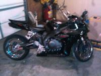 For sale 2007 CBR1000RR FIREBLADE stretch & lowered