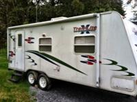 I am selling this camper trailer because it belonged to