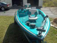 "Mastercraft ""Ragin Cajun 171"" bass boat. 17' 115"