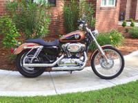 Better than new 2008 Harley Davidson XL1200 Custom