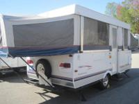 This 2005 Fleetwood Sequoia Pop up Camper shows very