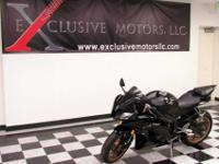 wE JUST GOT IN TRADE THIS PERFECT 2009 YAMAHA R6. IT IS