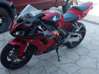 hi, im putting my 2006 Honda CBR1000RR up for sale, i