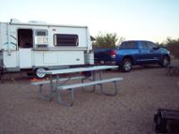 2004 with air conditioner, awning, bathroom, couch,