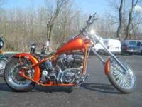 2004 OTHER CUSTOM BUILT CHOPPER, Orange,