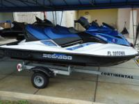 This is a gorgeous 2007 Seadoo GTX 155 . This ski is in
