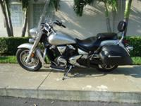 This is a gorgeous 2008 Yamaha V star 1300 tourer with