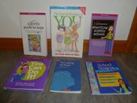 6 American Girl paperback books from the American Girl