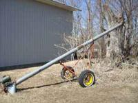 20' auger with 3 H/P electric motor Please call