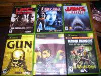 I HAVE 6 ORIGINAL XBOX GAMES. THESE GAMES ARE SOME
