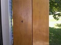 FOR SALE ARE 6 BI-FOLD CLOSET DOORS. THEIR SIZE ARE: 35