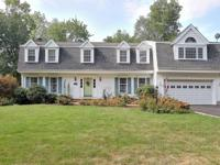 Fabulous 12 Room Center Hall Colonial on a Cul-de-sac