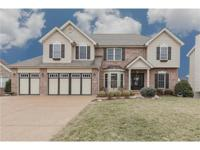 Stunning, one of a kind two story custom home. Home has