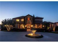 Fabulous Custom Estate located in the prestigious gated