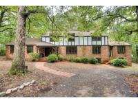 Stunning Tudor home on 5 acres in Powhatan with