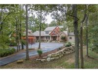 Cust. 1.5 story home on 5.8+/- ac lot. Access to over