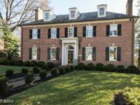Beautiful Georgian Colonial with lovely detailing that