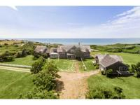 This magnificent beach side home rests on over 12 acres