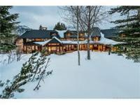 This 6 bedroom 7 bathroom ski in ski out family retreat