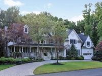 Magnificent custom built Colonial. First floor offers