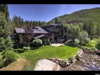 13+ acre park city equestrian estate. Situated in an