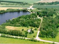 Rare and unique property with Eau Claire River frontage